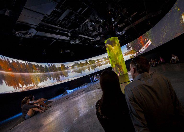 """""""Façonner l'avenir"""" Biosphère de Montréal – Environnement Canada – Idées au cube / The Biosphere– Environment Canada – id3 ''Design the Future'' immersive show"""